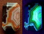 Agate UV Light